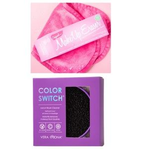 Makeup eraser and color switch